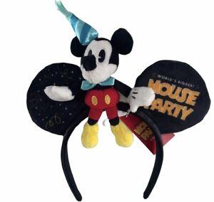 Ears Serre Tete Diademe Mickey Disney Disneyland Paris Neuf headband