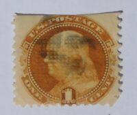 1869 - USA - 1 Cent Benjamin Franklin Briefmarke Scott #112