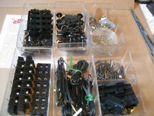 New ListingMisc Track Equipment (Wires, Connection Wire,Wheels Etc) In Plastic Case