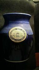 HAND-made Grey Fox Pottery storico Grove ARCADE ASHEVILLE NC VASO! CC946TXX