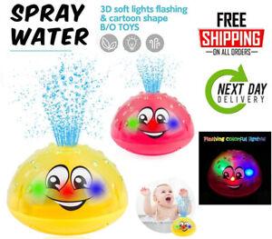 Yellcetoy 2 Pack Baby Bath Toys 6 12 Months Bath Buddies Light Up Bath Toy Toys