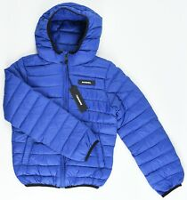 DIESEL Boys' JONNI Quilted Hooded Puffer Jacket / Coat, Royal Blue, 10 years