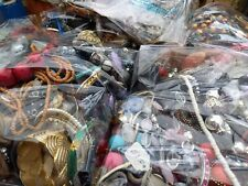 2KG costume jewellery job lot/bundle resell wear upcycle craft FREE P & P UK.