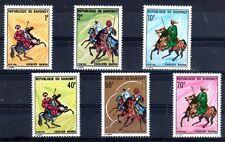 CHEVAL Dahomey 6 val de 1970 ** - HORSE PFERD CAVALLO