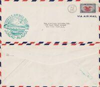 US 1940 FAM 20 FIRST FLIGHT AIR MAIL FLOWN COVER JUNEAU ALASKA TO SEATTLE WASH