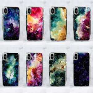 Space Galaxy Night Sky Nebula Cosmos Watercolour Phone Case/Cover For Samsung