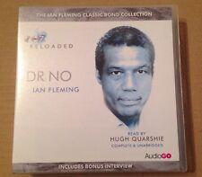James Bond  007 DR. NO 8 Disc Cd Audio Book Box Set Hugh Quarshie 8 Hours Approx