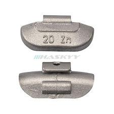 100 Stück 20g Schlaggewichte Stahlfelgen VERZINKT Auswuchtgewichte Wuchtgewichte