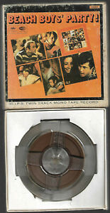 2 Spur Tonband Reel to Reel : The Beach Boys - Party! (Surf Rock) The Beatles