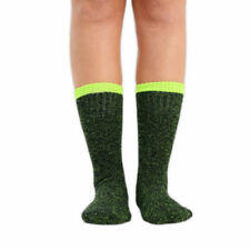 Elastane Patternless Machine Washable Socks for Women