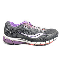 Saucony Running Shoes Womens Size 8.5 8 1/2 Ride 6 Gray Purple Sneakers Workout