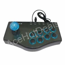 Arcade Street Joystick Gamepad Fighting Stick USB 8 Buttons For PC PS3 Andriod