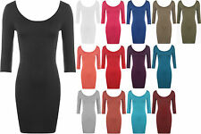 Women's Solid Stretch, Bodycon Above Knee, Mini Casual Dresses