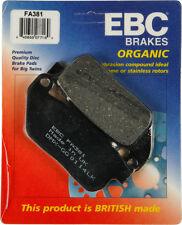 EBC BRAKE PADS Fits: Harley-Davidson XL883N Iron 883,XL883L Super Low,XL1200X Fo
