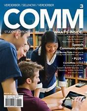COMM 3 by Kathleen S. Verderber, Deanna D. Sellnow & Rudolph F. Verderber 3rd Ed