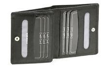 Kreditkartenhülle, Scheckkartenmappe LEAS in Echt-Leder, schwarz