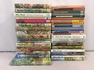 Miss Read Books World of Thrush Green Village Christmas Gossip Lot of 38 HC/PB