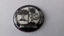 AMG Affalterbach emblem Mercedes Multimedia Control knob Badge Decal Sticker
