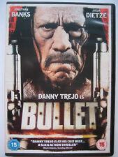 Bullet (DVD, 2014) Danny Trejo NEW SEALED PAL Region 2