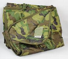 New US Military Army Woodland Camo BDU Poncho Liner Woobie Blanket