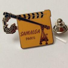 Pin's Folies Badge Demons et Merveilles Cinema Camera panoramique SAMALGA #18