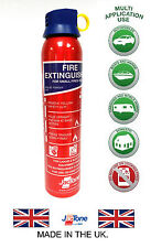 FIRE EXTINGUISHER FOR HOME, CARAVAN, CAR, TAXI, BOAT - 600g BC Powder