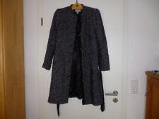 Damen Wollmantel schwarzmeliert von H&M gr.44