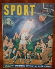 January 1951 Sport Magazine Basketball Betting Scandal 1950 Phillies