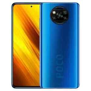 XiaomiPoco X3 NFC Unlocked Smartphone 64MP Camera Colbalt Blue Colour