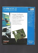 Hauppauge! WinTV NOVA-SE2  PCI-Steckkarte SAT-TV mit Fernbedienung (#15.06.18)