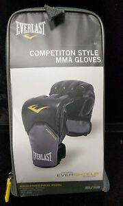 New, Everlast Competition Style MMA Gloves Size S/M - DK20_33 A4-18