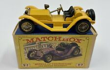 Matchbox Y-7 Models of Yesteryear 1913 Mercer Raceabout Type 35J in Original Box