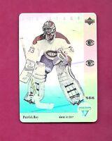 1991-92 MCDONALDS UPD # MCH-06 CANADIENS  PATRICK ROY HOLOGRAM  (INV# A6313)