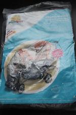 super Regenverdeck für Tandemsportwagen Geschwisterwagen Kinderwagen NEU OVP