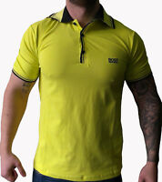 Hugo Boss Modern Fit Yellow Polo Shirt . Size S L XL