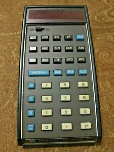 Classic HP Calculator HP-35 last version with battery