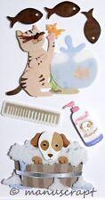 Artoz Artwork 3D-Sticker, Hundewäsche, Fischfang