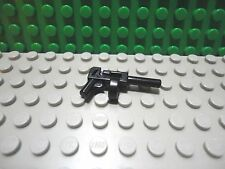 Lego mini figure 1 Black tommy gun weapon batman gangsters NEW