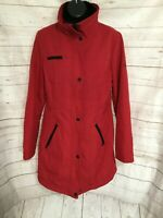 Jessica Simpson Women's Jacket Snap / Zipper Front Red Size M Medium
