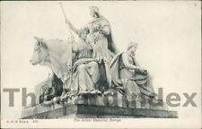 LONDON Albert Memorial Postcard LONDON Stuart, F.G.O
