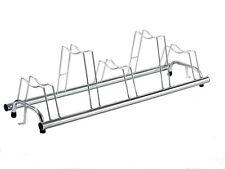 Portabiciclette 5 posti zincato - sistema brevettato per ruote con freno a disco