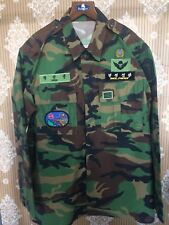 Rare South Korean Demilitarized Zone Airborne Police Shirt. Para, Paratrooper.