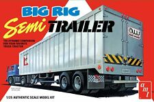 "1:25 AMT ""BIG RIG"" Highway Hauler SEMI TRAILER  Plastic Model Kit *NEW SEALED*"
