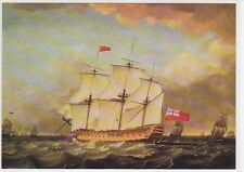 CP ART TABLEAU MONAMY SWAINE H.M.S. Victory at sea