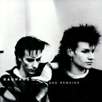 Bauhaus ‎– ...And Remains [New & Sealed] Rare Digipack CD