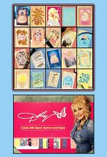 Dolly Parton American Greetings Cards Set of 20 + Large Cardboard Ad Display
