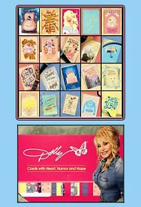 Dolly Parton American Greetings Cards Set of 20 + Large Cardboard Display