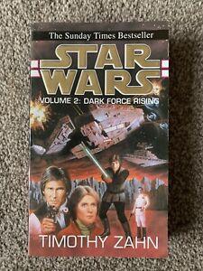 Star Wars: Dark Force Rising by Timothy Zahn Paperback Thrawn Trilogy Part II 2