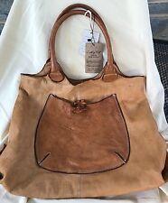 Costanza Rota Handbag Italy Distressed Leather NWT