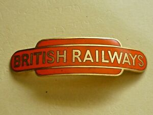 VINTAGE RAILWAY CAP BADGE BRITISH RAILWAYS NORTH EASTERN TOTEM J.R. GAUNT